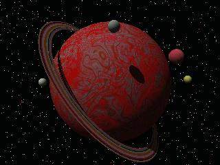 image of a red planet
